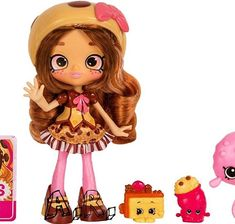 Coco cookie is so cute Shoppies Dolls, Shopkins And Shoppies, Shopkins Game, Shopkins Girls, Doll Toys, Baby Dolls, Num Noms Toys, Nike Iphone Cases, Babysitting Activities