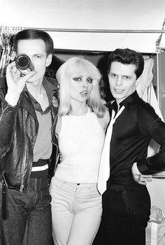 Johnny Strike and Frankie Fix of Crime with Debbie Harry  #truenewyork #lovenyc