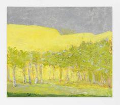 Dark Green Foreground Stripe - Wolf Kahn 2015