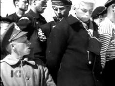 """Гражданская война - плен и казнь матросов - YouTube--Fragment of a cult / movie """"We Are from Kronstadt."""" The capture and death squad sailors of Petrograd in the autumn of 1919."""