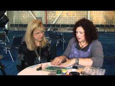 #070Bonnie McCaffery's VidCast - Leslie Tucker Jenison gelli plate