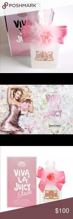 Juicy Couture Perfume Viva la Juicy Glacé by Juicy Couture for women 3.5oz EDP brand new 💓 Juicy Couture Makeup