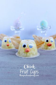 Chick Fruit Cups | The NY Melrose Family