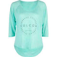 VOLCOM Varlet Womens Crop Tee 192796523   Tops   Tillys.com