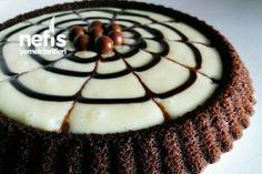 Pudding Tart Cake (with video) Full Size - Yummy Recipes, Cake Recipes, Snack Recipes, Cooking Recipes, Pudding Recipes, Yummy Recipes, Honey Dessert, How To Make Custard, Turkish Sweets, Custard Tart