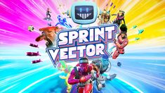 """Sprint Vector is one of those games that took me by storm when it was announced last year, the style trailer more or less screamed: """"YOU NEED THIS! Free Pc Games, Free Android Games, Wrestling Games, Defense Games, Pc Gaming Setup, Fun Math Games, Adventure Games, Retro Video Games, Vector Free Download"""