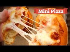 cum sa gatesti mini pizza nici nu va trece prin cap cat sunt de gustoase | In bucatarie cu Helena - YouTube Pizza, Macaroni And Cheese, Foods, Mini, Ethnic Recipes, Youtube, Food Food, Mac And Cheese, Food Items