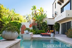 Artfully Staged Home in Hollywood Hills | Traditional Home