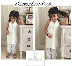 Little Pakistani doll in a Shamsha Hashwani shalwar kameez ❤ - Suit World Baby Girl Dresses, Baby Dress, Girl Outfits, Baby Suit Design, Boys Wedding Suits, Shalwar Kameez, Churidar, Kids Lehenga, Kids Suits