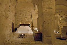"legit. Dungeon looking..""torture"" place. ;) Sextantio le Grotte della Civita, Basilicata, Italy"