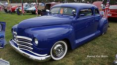 1947 Plymouth Coupe custom at Steve McQueen Car Show 2014; http://www.specialcarstore.com/content/steve-mcqueen-car-motorcycle-show-2014-workin-progress