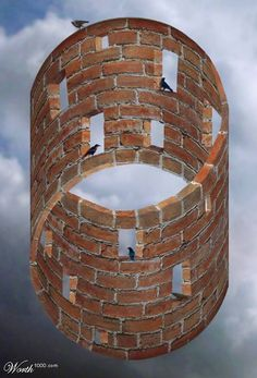Optical-illusion...(note: example to show my art students)