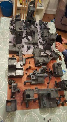 Game Terrain, 40k Terrain, Wargaming Terrain, Tabletop, Warhammer Terrain, Diy Table Top, Dark Eldar, Dungeon Maps, Warhammer 40k Miniatures