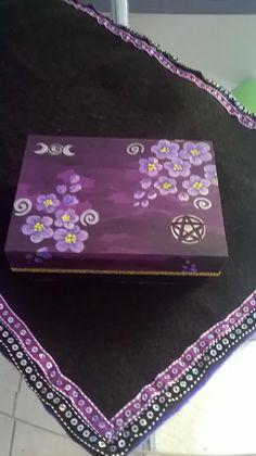 Caja para tarot. Tarot box.