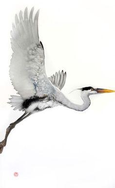 "<span class=""title"">Heron (Unframed)</span>"
