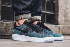 The Nike Air Force 1 Ultra Flyknit Mid Multicolor 2.0 Is On