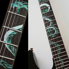 Twisted Snake Fretboard Markers Inlay Sticker For Guitar