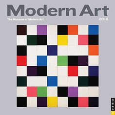 Modern Art 2016 Mini Wall Calendar by The Museum of Modern Art, Quilt Inspiration