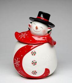 Appletree Design Snowman Cookie Jar