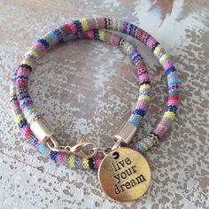 Aztec bracelet. www.be-beryl.nl
