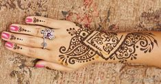 Another really good henna tattoo #howtoremovetattoos