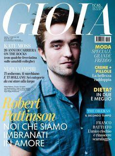 Rob Pattinson Gioia November 2012