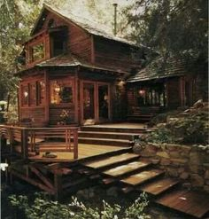 my future house Future House, My House, Cabin In The Woods, Home In The Mountains, Cabin On The Lake, Cottage In The Woods, Log Cabin Homes, Log Cabins, Cabin Decks