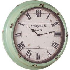"""Cooper Classics 16.75"""" Anthea Wall Clock"""