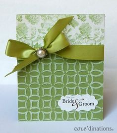 Stunning Botanical Tea card with Core'dinations cardstock by Debbie #graphic45 #Coredinations