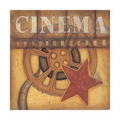 Silver Screen Cinema Studio Filmrolle Pin Up Art Retro Sign Blechschild Schild