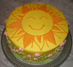 Sunshine cake by sweetshannan, via Flickr