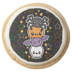 Halloween Treats shortbread cookies - home gifts ideas decor special unique custom individual customized individualized