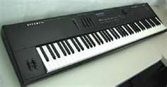 My 88-key Kurzweil.  I got it back in 1998 and has been my workhorse!