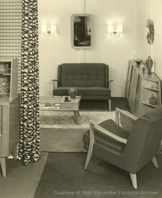 E Gomme Ltd, G-Plan living room set 1950-59