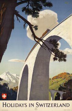 Welf 1946 Holidays in Switzerland