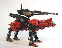 zoikino! - 改造ゾイド: コマンドウルフF.E.S仕様(攻撃強化Ⅱ型)