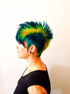 Color by Pravana. Why aren't my friends adventurous enough to let me do this to them?