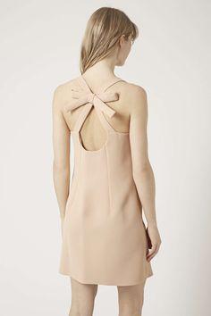 Photo 4 of Bow Back Crepe Shift Dress