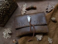 Leather pouch by ErinyesAlecto