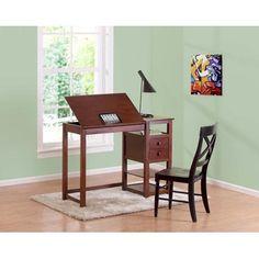 Drafting and Craft Desk, Espresso
