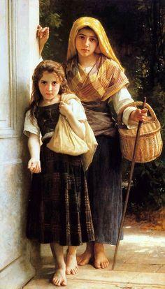 The Athenaeum - Little Beggars (William Bouguereau - )