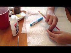 My niece's Craft Videos, so awesome!  Fun Crafting -glazed doughnut