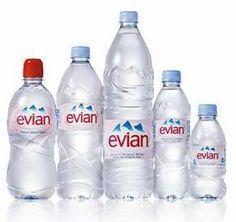 Evian agua mineral PET 33cl