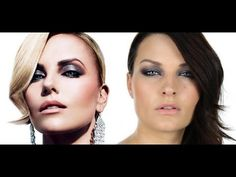 Charlize Theron W Magazine Makeup Tutorial Sam nails it again!  Great makeup tutorial!