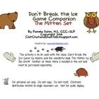 This is a companion activity to the classic game Don't Break the Ice by Hasbro.  Students improve their receptive and expressive vocabulary skills ...