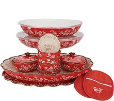 Temp-tations Floral Lace Entertaining Bakeware Set in black Pioneer Woman Dishes, Bakers Gonna Bake, Pot Lids, Utensil Set, Stuff And Thangs, Dinnerware Sets, Recipe Cards, Bakeware, Casserole Dishes