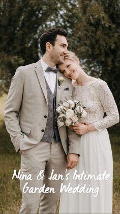 Garden Wedding, Diy Wedding, Wedding Photos, Wedding Day, Casual Wedding Attire, Groom Attire, Wedding Flower Decorations, Wedding Flowers, Groomsmen Grey
