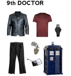 Nerdy costume ideas including the ninth doctor and catwoman,