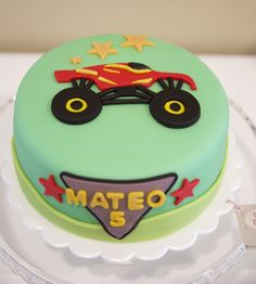 Monster Track Cake. Que Ricos Queques artesanales.