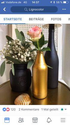 Vintage Vase DIY Projekt